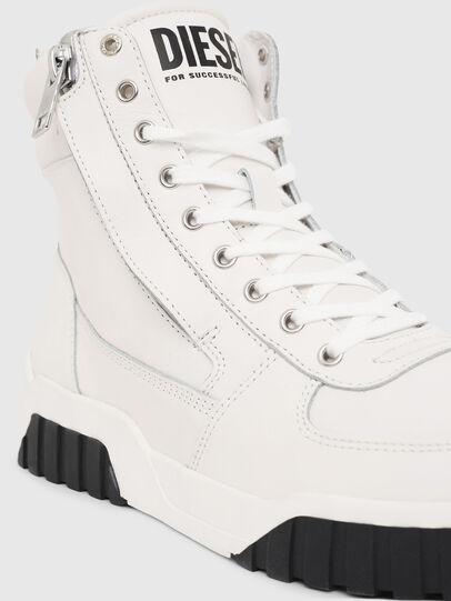 Diesel - S-RUA MID, Bianco - Sneakers - Image 4