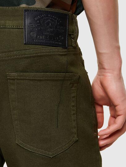 Diesel - D-Strukt 009ZF, Verde Militare - Jeans - Image 4
