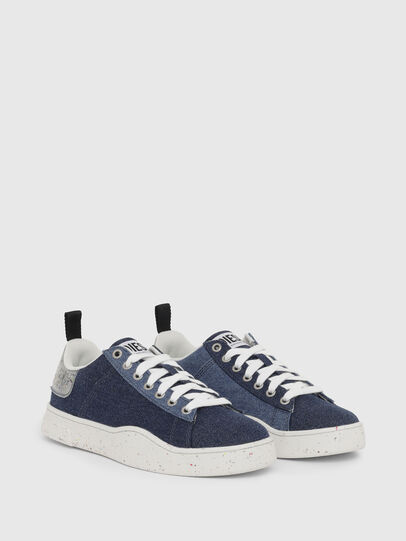 Diesel - S-CLEVER LOW LACE W, Blu - Sneakers - Image 2