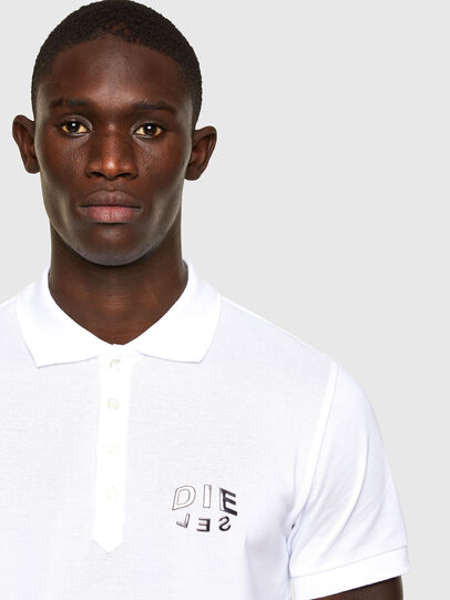 Diesel - T-RANDY-NEW-A2, Bianco - Polo - Image 2