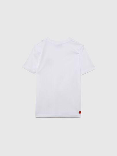 Diesel - UMLT-TDIEGOS, Bianco - T-shirts e Tops - Image 2