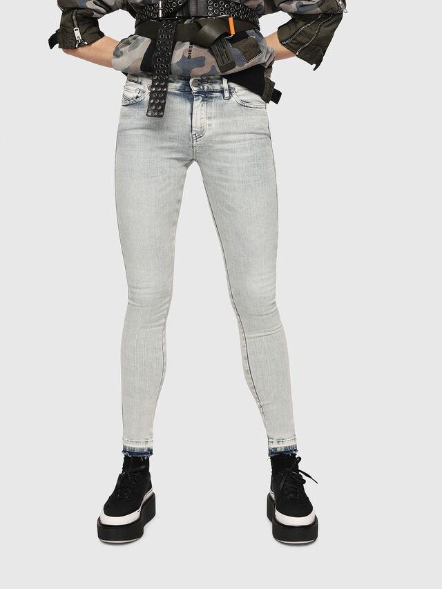 Diesel - Slandy 086AF, Blu Chiaro - Jeans - Image 1