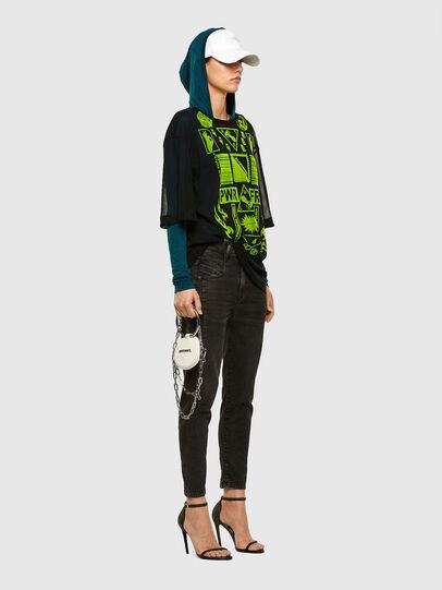Diesel - Fayza JoggJeans 009HM, Nero/Grigio scuro - Jeans - Image 6