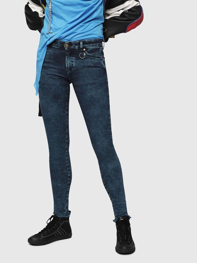 Diesel - Slandy 069DC, Blu Scuro - Jeans - Image 1