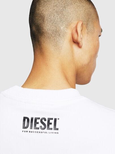 Diesel - S-LINK-MOHAWK, Bianco - Felpe - Image 5