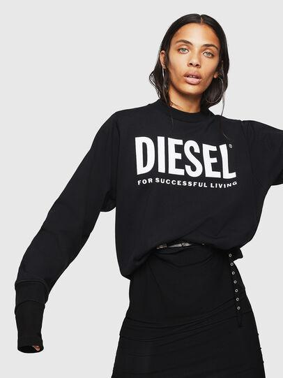 Diesel - F-ANG, Nero - Felpe - Image 4