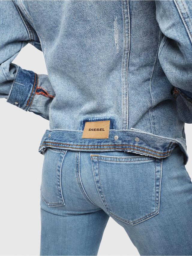 Diesel - DE-NALINI, Blu Jeans - Giacche in denim - Image 5