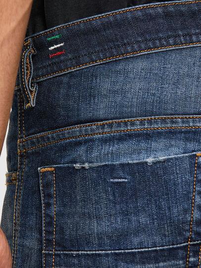 Diesel - Thommer 009JT, Blu Scuro - Jeans - Image 4