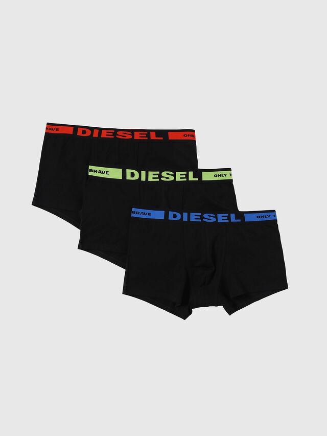 Diesel - UMBX-KORYTHREEPACK, Nero - Boxer stretch - Image 1
