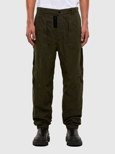 Diesel - P-JARROD, Verde Militare - Pantaloni - Image 1