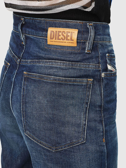 Diesel - Widee 0090W, Blu Scuro - Jeans - Image 5