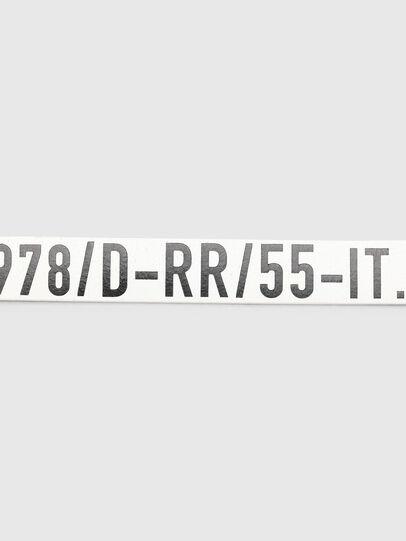 Diesel - B-ARBARANO II, Bianco/Nero - Cinture - Image 4