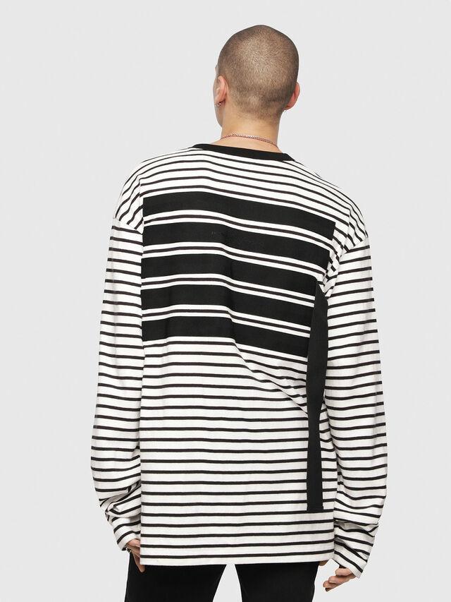Diesel - T-DAICHI, Bianco/Nero - T-Shirts - Image 2