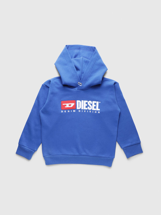 Diesel - SDIVISION OVER, Blu Ceruleo - Felpe - Image 1