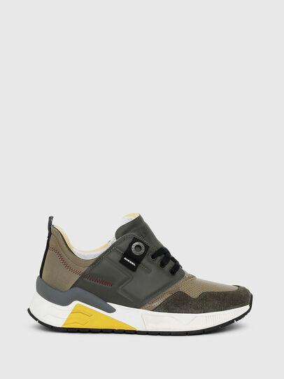 Diesel - S-BRENTHA LC, Verde Militare - Sneakers - Image 1