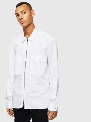 S-PATCH-P, Bianco - Camicie