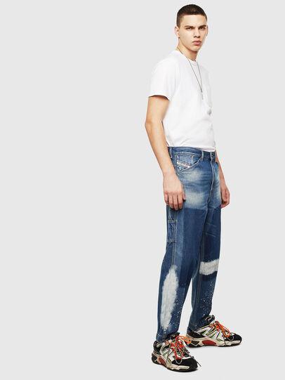 Diesel - D-Franky 009CB, Blu medio - Jeans - Image 4