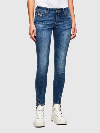 Diesel - D-Jevel 009PK, Blu medio - Jeans - Image 1