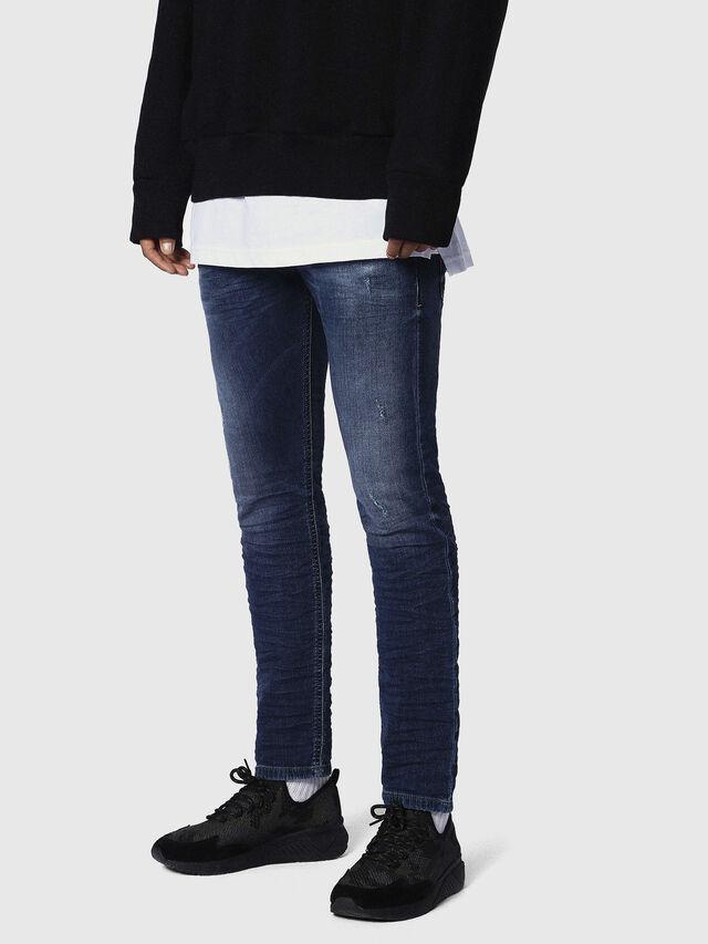 Diesel Krooley JoggJeans 0686W, Blu Scuro - Jeans - Image 3