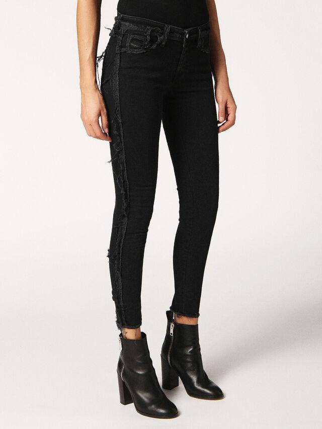 SLANDY-SP 0688G, Nero Jeans