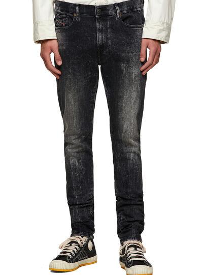 Diesel - D-Amny 009PX, Nero/Grigio scuro - Jeans - Image 1