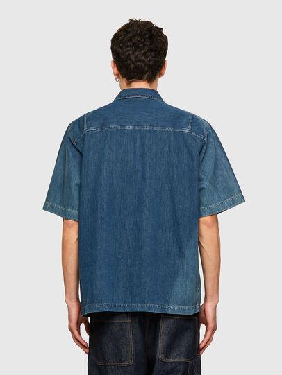 Diesel - D-GUNN-SP, Blu medio - Camicie in Denim - Image 2