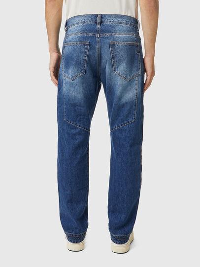 Diesel - D-Viker 0KDAV, Blu/Marrone - Jeans - Image 2