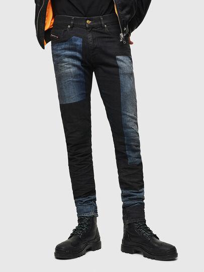 Diesel - D-Strukt 0094K, Blu Scuro - Jeans - Image 1