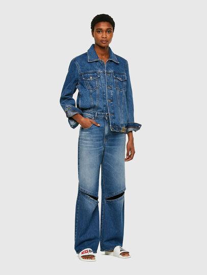 Diesel - D-Reggy 009RK, Blu medio - Jeans - Image 5