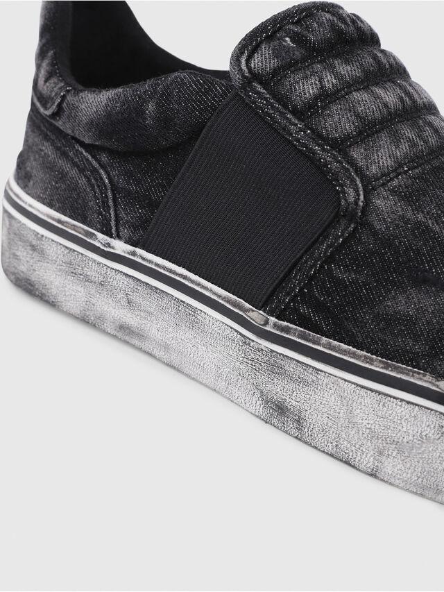 Diesel - S-FLIP ON, Nero Jeans - Sneakers - Image 5