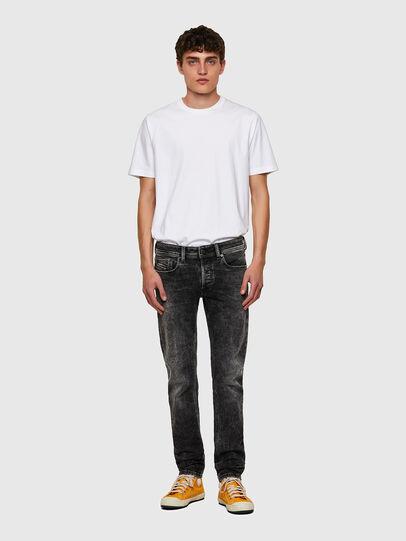 Diesel - Sleenker 09A17, Nero/Grigio scuro - Jeans - Image 5