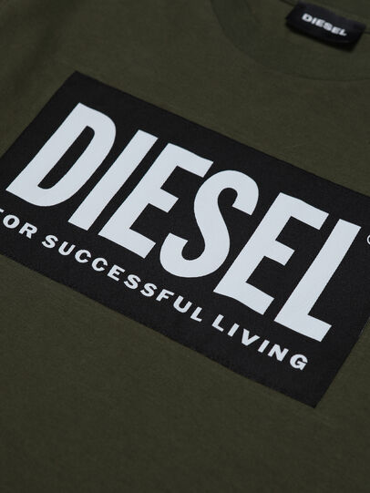 Diesel - TUSTY ML, Verde Militare - T-shirts e Tops - Image 3