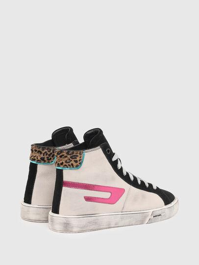 Diesel - S-MYDORI ML W, Rosa/Nero - Sneakers - Image 3