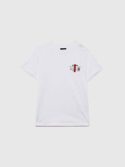 Diesel - UMLT-TDIEGOS, Bianco - T-shirts e Tops - Image 1