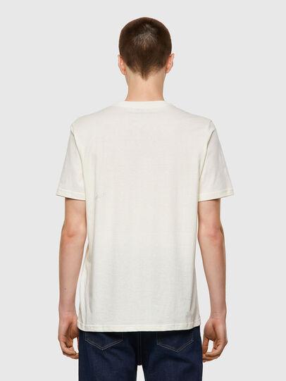Diesel - T-JUST-B57, Bianco - T-Shirts - Image 2