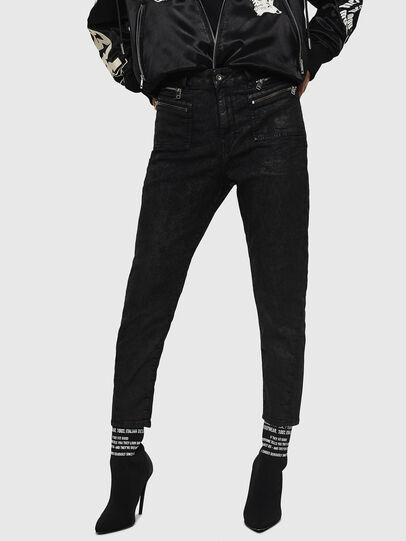 Diesel - D-Eifault JoggJeans 084AG, Nero/Grigio scuro - Jeans - Image 1