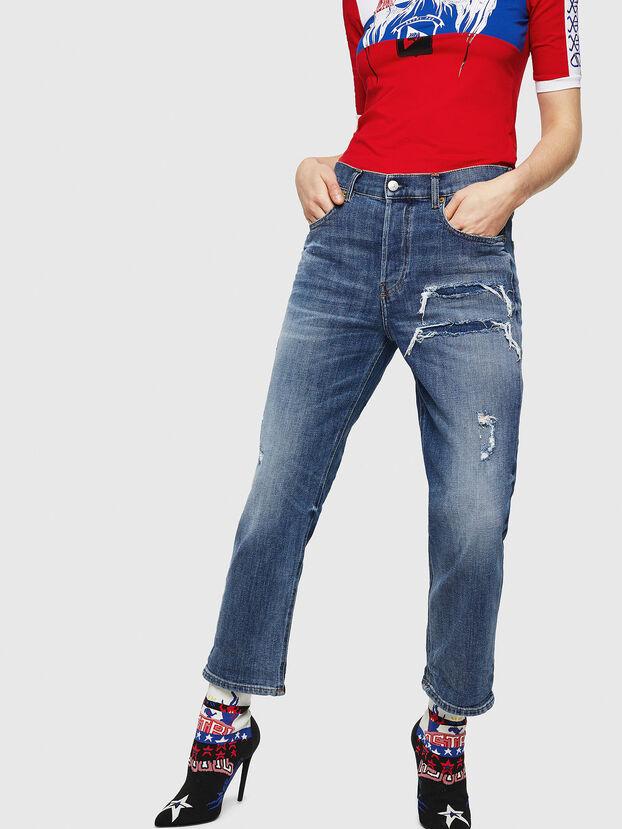 Aryel 0890X, Blu medio - Jeans