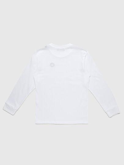 Diesel - TFREDDY ML, Bianco - T-shirts e Tops - Image 2