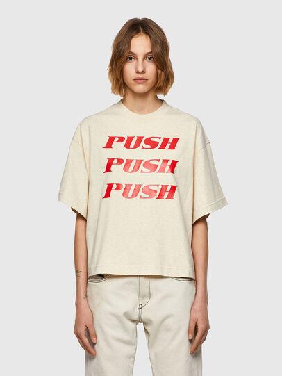 Diesel - T-BOWXY, Bianco - T-Shirts - Image 1