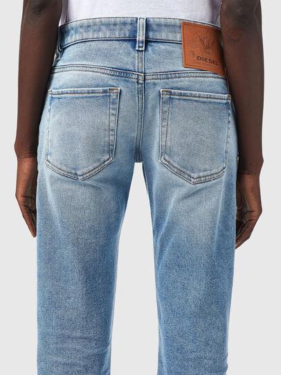 Diesel - D-Lyla 09B14, Blu Chiaro - Jeans - Image 4