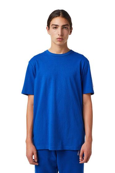 T-shirt con applicazione DSL con onda