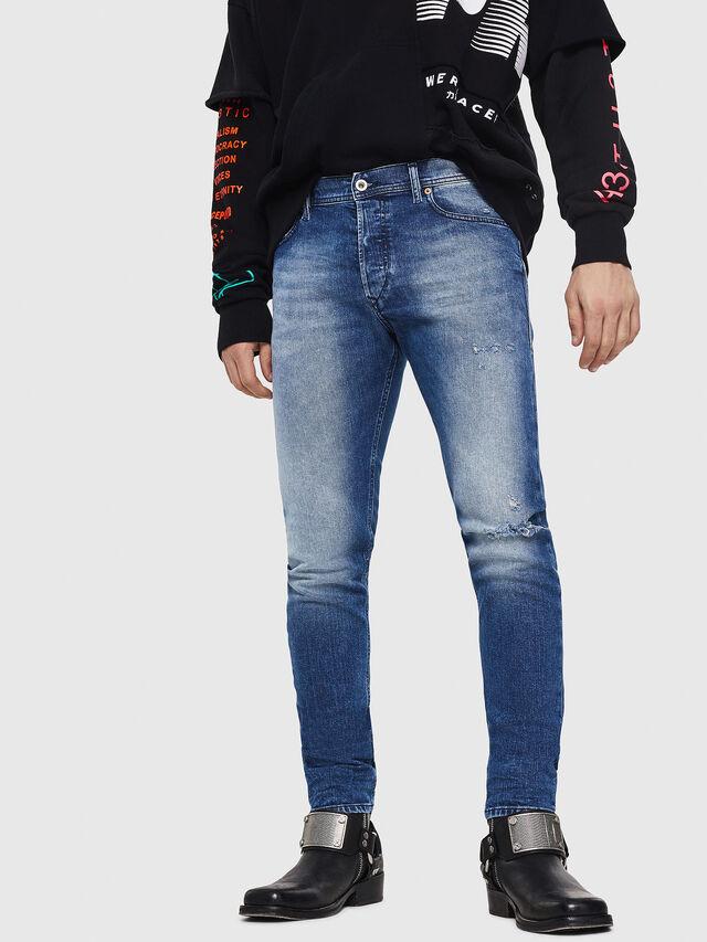 Diesel - Tepphar 081AQ, Blu medio - Jeans - Image 1