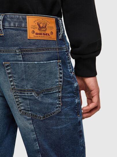 Diesel - D-KROOSHORT-Y-GO JOGGJEANS, Blu Scuro - Shorts - Image 3