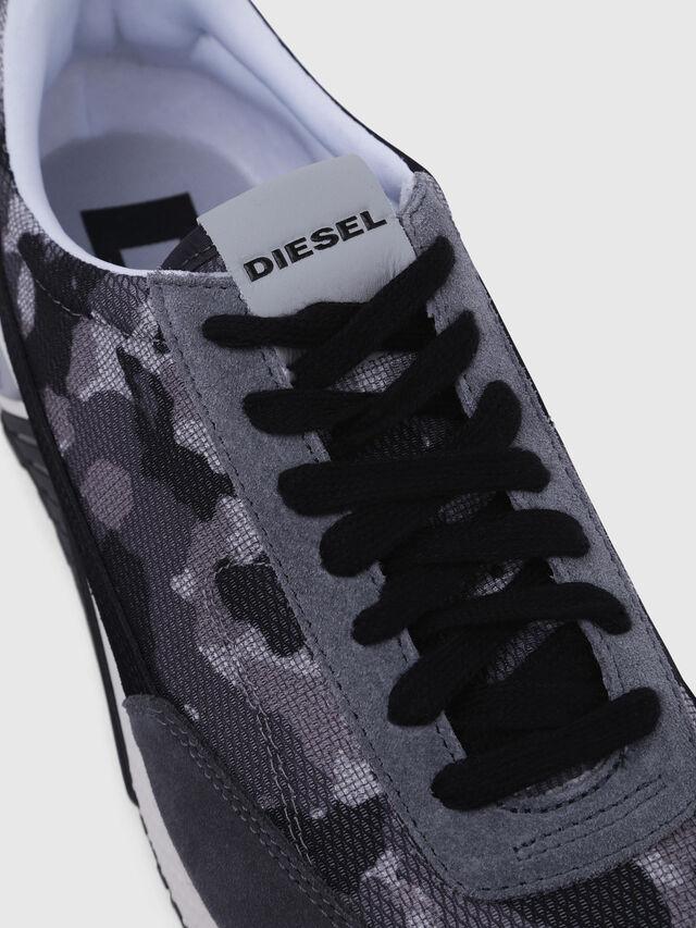 Diesel - S-KB LOW LACE, Grigio/Nero - Sneakers - Image 4