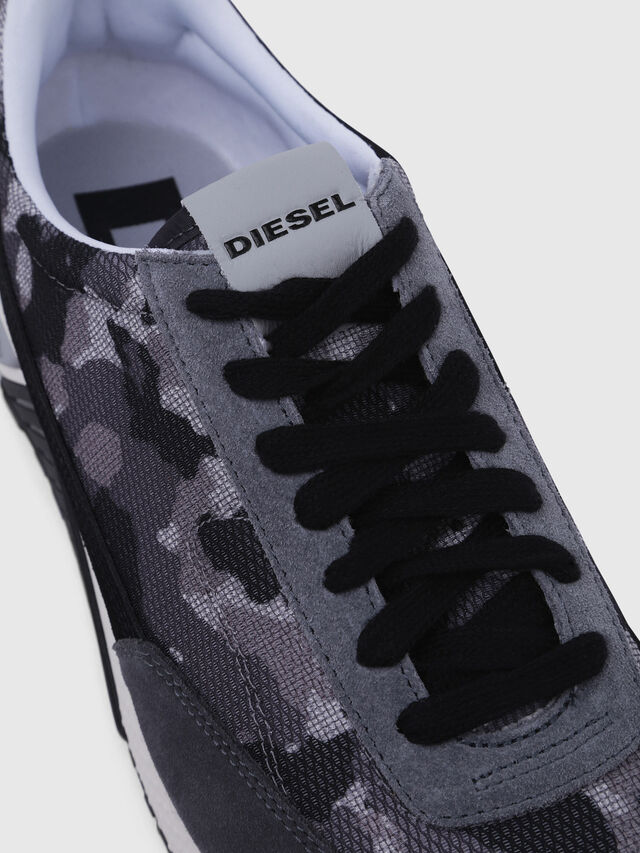 Diesel - S-KB LOW LACE, Grigio/Nero - Sneakers - Image 4