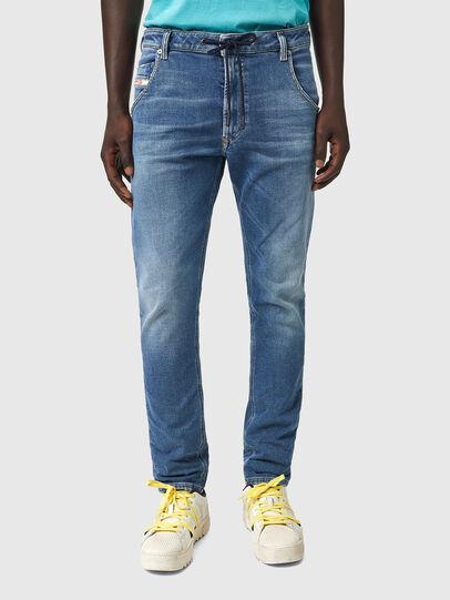 Diesel - Krooley JoggJeans® Z69VK, Blu medio - Jeans - Image 1