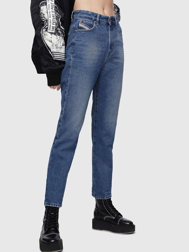 Diesel - D-Eiselle 0076X, Blu medio - Jeans - Image 3