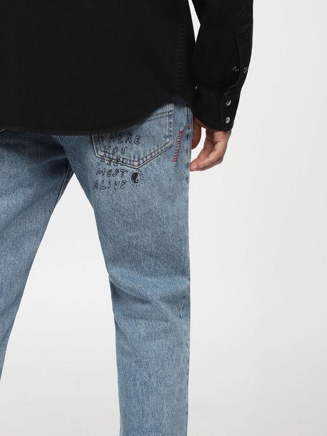 Diesel - D-PLANET, Nero Jeans - Camicie in Denim - Image 3
