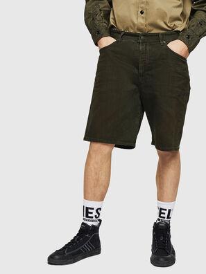 D-WILLOH, Verde Scuro - Shorts