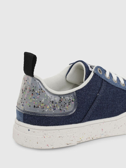 Diesel - S-CLEVER LOW LACE W, Blu - Sneakers - Image 4